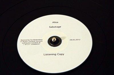28 мая 2012 - Завершён мастеринг альбома Алисы «Саботаж»