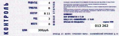 19 мая 2001 - Концерт - Москва - c/к «Олимпийский» - Фестиваль «Maxidrom»