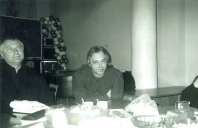 11 января 2003 - Встреча Кинчева и Батогова с представителями «Армия Алиса Питер»