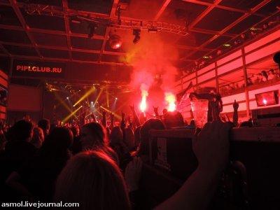 1 сентября 2012 - Концерт - Москва - Клуб P!PL - «Крах»