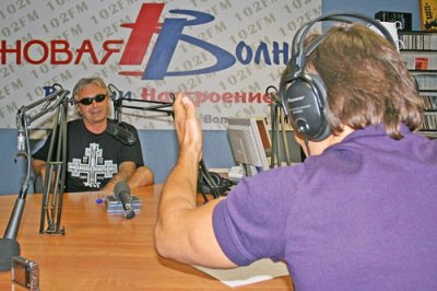 """11 июля 2008 - К.Кинчев на радио """"Новая волна"""" (Волгоград)"""