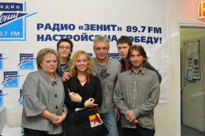 """1 декабря 2010 - Визит Константина Кинчева на радио """"Зенит"""""""