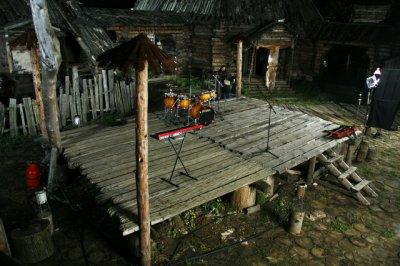 7-8 октября 2006 - Съёмки клипа «На пороге Неба»