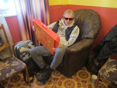 27 октября 2012 - В Туле Кинчеву подарили шикарный пряник