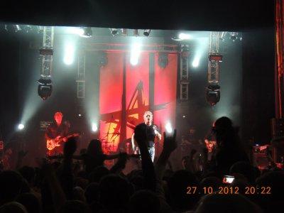 """27 октября 2012 - Концерт - Тула - ДК Машзавода -Презентация альбома """"Саботаж"""""""