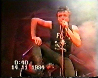 13 ноября 1994 - Концерт - Москва - клуб «Пилот» - «Метка тур»