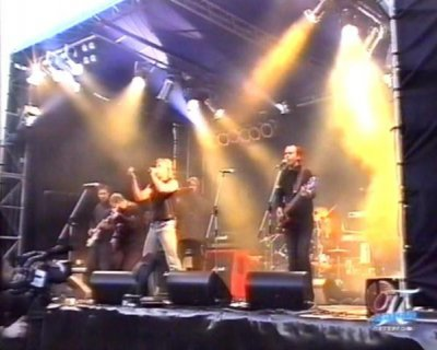 """5 октября 2002 - Концерт в Петергофе показывают на канале """"Петергоф-ТВ"""""""