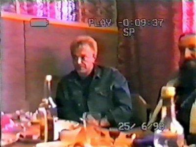 25 июня 1998 - Концерт - Кашин (Тверская область) - Пролетарская площадь - День города - Кинчев (акустика)