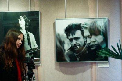 30 октября 2011 - Выставка фотопортретов легенд русского рока в Санкт-Петербурге