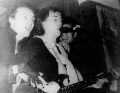 """5 октября 1985 - К.Кинчев и С.Задерий принимают участие в концерте А.Башлачёва (""""Егоркина Былина"""")"""