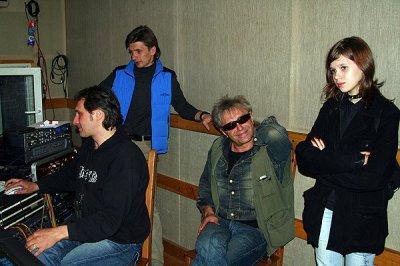 8 июня 2006 - Санкт-Петербург, студия Добролёт, запись песни «Рок-н-ролл»