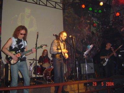 29 мая 2004 - Игорь Романов и Андрей Вдовиченко играют на концерте НЭП