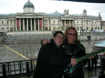 13 января 2008 - Игорь Романов и Дмитрий Парфёнов (Ослик) в Лондоне