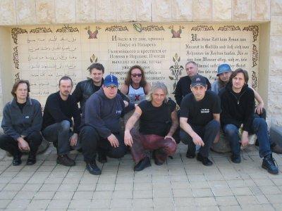 январь 2004 - Группа АлисА посещает Иордан (Израиль)