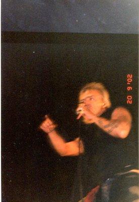 20 сентября 2002 - Концерт - Санкт-Петербург - ДС «Юбилейный»