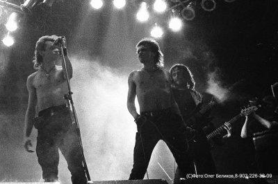 6 апреля 1991 - Концерт - Москва - УДС «Крылья Советов» - Фестиваль «Рок против террора»