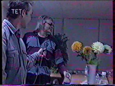 """21 апреля 2000 - К.Кинчев, П.Самойлов - интервью для телеканала """"ТЕТ"""" (Киев), программа """"Решето"""""""
