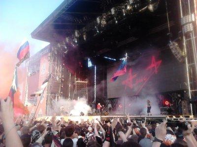 """8 июня 2013 - Концерт - Самара, поле """"Петра-Дубрава"""" - Юбилейный фестиваль """"Рок над Волгой"""""""
