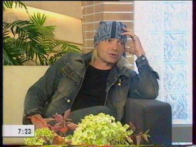 2 октября 2003 - Кинчев в эфире программы «Доброе утро» (ТВ-канал ОРТ)