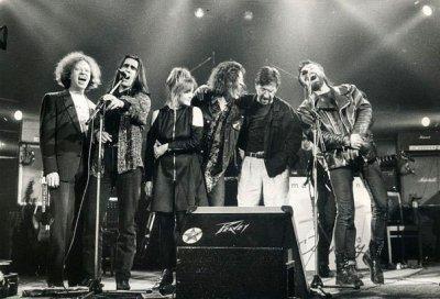 """4 мая 1993 - К.Кинчев посетил сборный концерт """"10-лет Наутилус Помпилиус"""""""