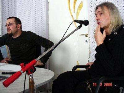 """19 февраля 2006 - Интервью с К.Кинчевым на радио """"ТВС FM"""" (Таганрог)"""
