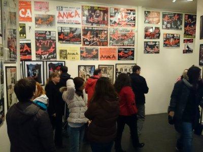 """16 ноября 2013 - В Санкт-Петербурге (галерея """"МАрт"""") проходит ретроспективная выставка, посвящённая ХХХ-летию группы АлисА (с 11:00 до 17:00)"""