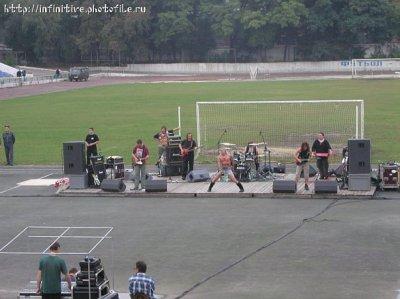 25 сентября 2004 - Концерт - Шахты - Ростовская обл. - стадион «Шахтёр»