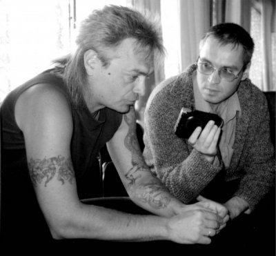 12 мая 2001 - Интервью с Константином Кинчевым во Дворце Молодёжи (Екатеринбург)