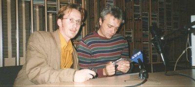 15 октября 2001 - Концерт - Хабаровск - Театр музыкальной комедии (акустика)