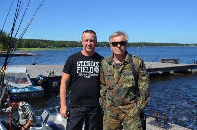 июль 2014 - К.Кинчев на рыбалке на Онеге