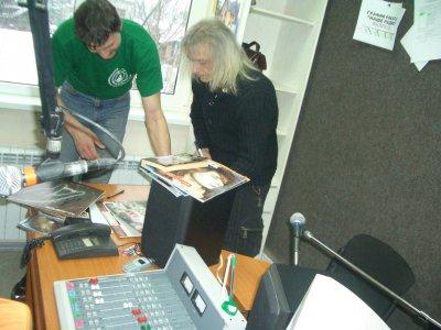 22 февраля 2006 - Кинчев в эфире «Нашего радио» (Волгоград)