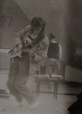"""июнь 1990 - И.Чумычкин принимает участие в выступлениях """"ДДТ"""" (Великий Новгород и Псков)"""