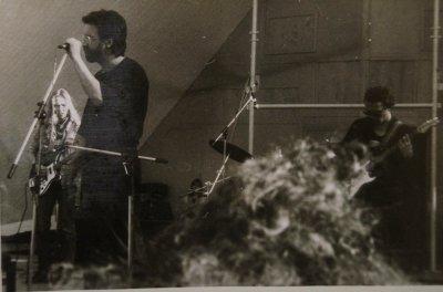 """весна 1990 - Чумычкин участвует в концертах """"ДДТ"""" в Новгороде и Пскове"""