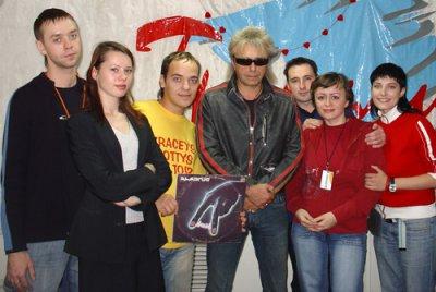 6 октября 2006 - К.Кинчев на радио «Трансмит» (Череповец)