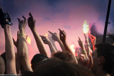 """17 июля 2011 - Концерт - Миасс (Челябинская обл.) - ГЦ """"Солнечная Долина"""" - 5-й Российский фестиваль экологически чистой рок-музыки «Уральский рубеж»"""