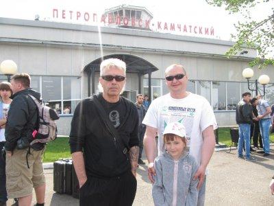 5 июня 2012 - К.Кинчев в аэропорту Петропавловск-Камчатский