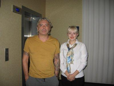 30 сентября 2014 - К.Кинчев в отеле Park Inn (Ижевск)