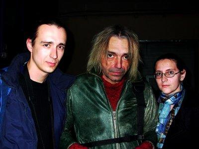 23 октября 2003 - К.Кинчев в Могилёве (Беларусь) в дороге из Минска в Москву