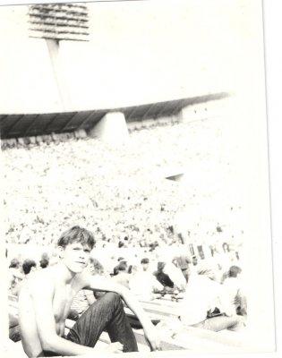 """13 августа 1989 - К.Кинчев посещает """"Московский Музыкальный Фестиваль Мира"""" (Москва, Лужники)"""