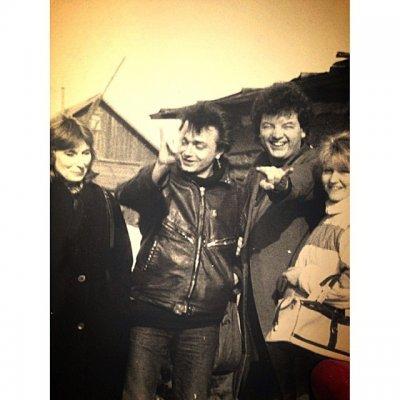 март 1988 - Группа «АлисА» в посёлке Новые Ляды (Пермь)