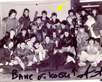 7 октября 1987 - К.Кинчев на собрании Владивостокского Рок-клуба