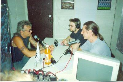 """14 мая 2001 - К.Кинчев на радиостанции """"Эхо Москвы"""" (Курган)"""