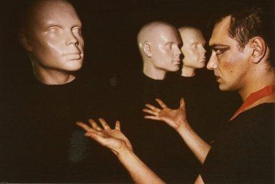 июль-август 1985 - Фотосессия у Георгия Молитвина для альбома «Нервная ночь» (2)