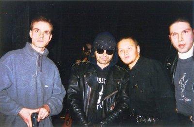22 марта 1996 - Концерт - Санкт-Петербург - ДК Железнодорожников - Клуб перевал в Железке