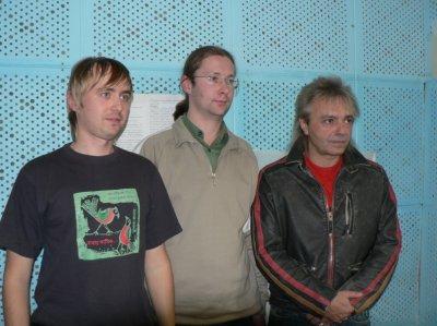 """25 октября 2006 - К.Кинчев на радио """"Европа плюс"""" (г.Полоцк, Беларусь)"""