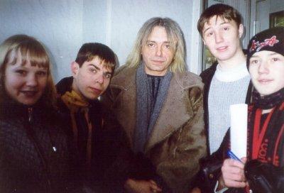"""17 февраля 2001 - К.Кинчев и Илья «Чёрт» на радио """"Power FM"""" (Мурманск)"""