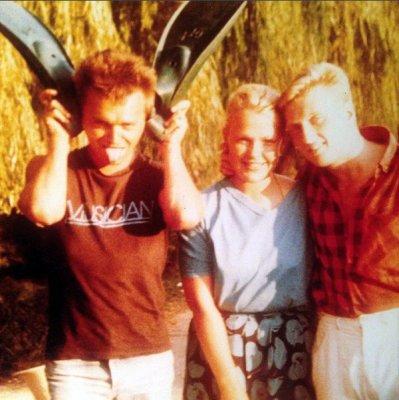 август 1988 - К.Кинчев в посёлке Никита (Ялта), пансионат Всесоюзной академии сельскохозяйственных наук имени Ленина (ВАСХНИЛ)