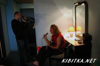 23 октября 2005 - И.Романов даёт интервью во время съёмок фильма «Концертный тур Изгой» про быт музыкантов в туре «Изгой»