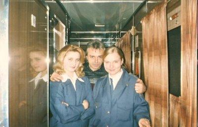 октябрь 1999 - К.Кинчев в поезде Москва - Санкт-Петербург