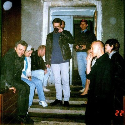 """22 мая 1996 - К.Кинчев в студии """"Радио-край"""" (Барнаул)"""